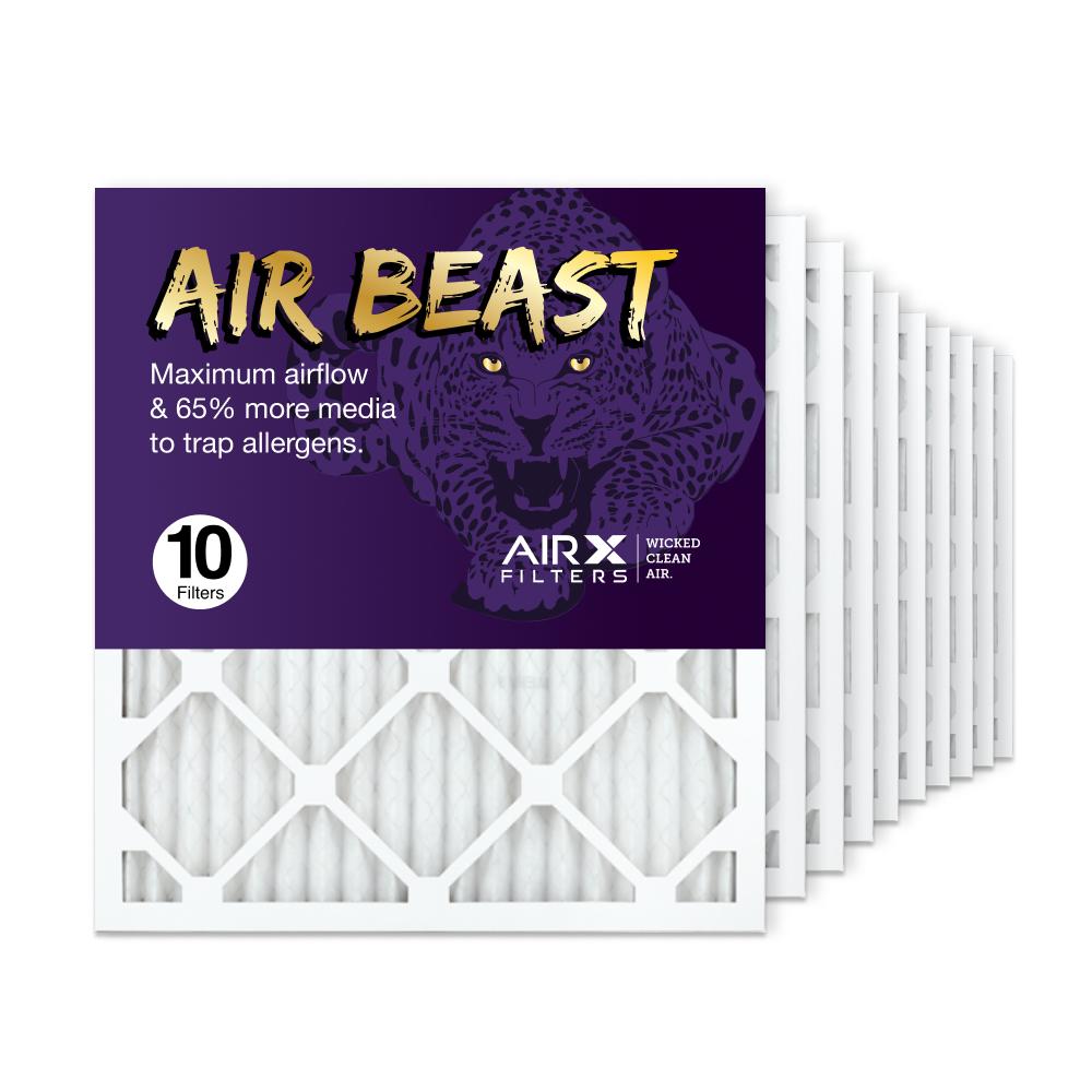 18x20x1 AIRx Air Beast High Flow Air Filter, 10-Pack