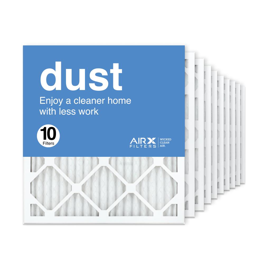 18x20x1 AIRx DUST Air Filter, 10-Pack