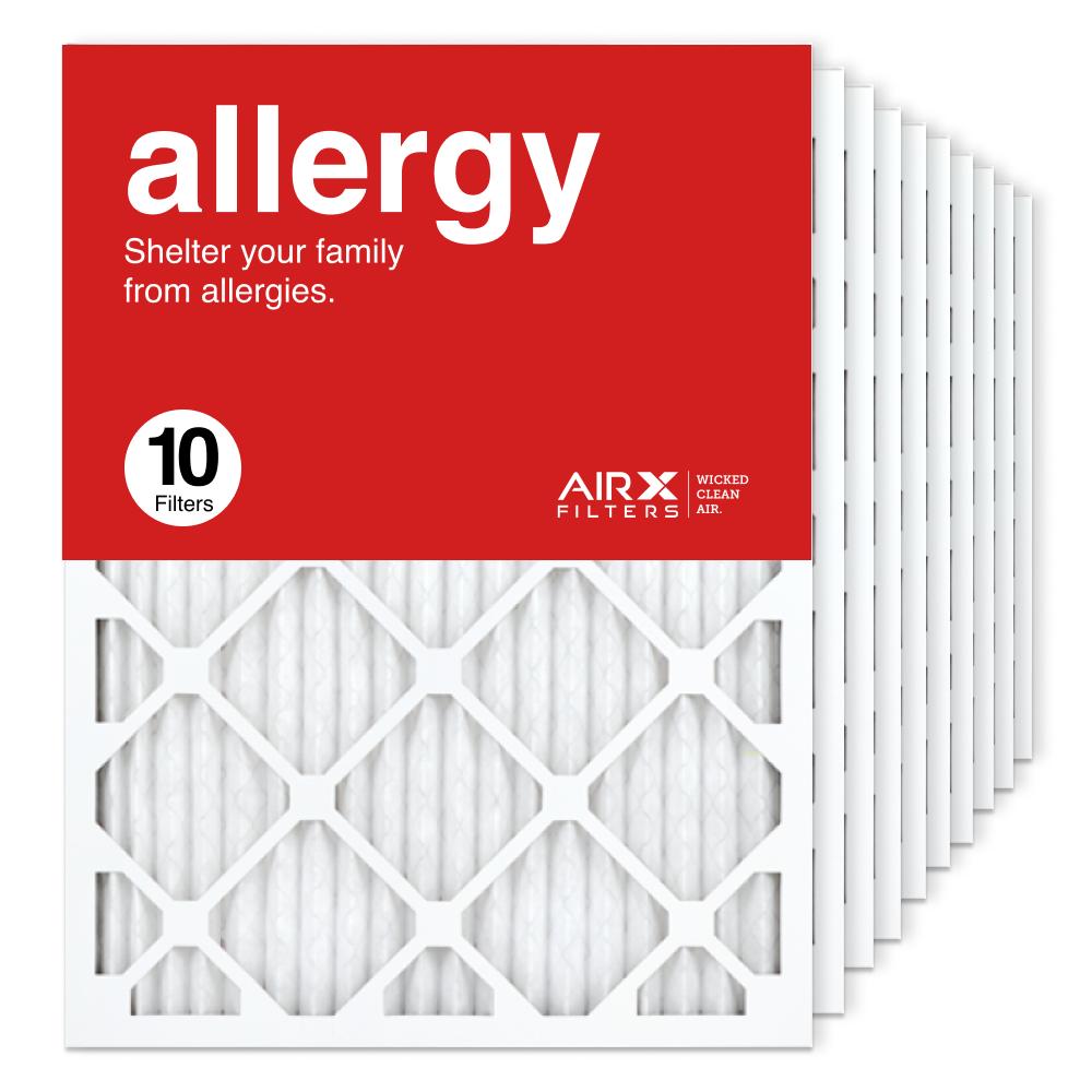 18x24x1 AIRx ALLERGY Air Filter, 10-Pack