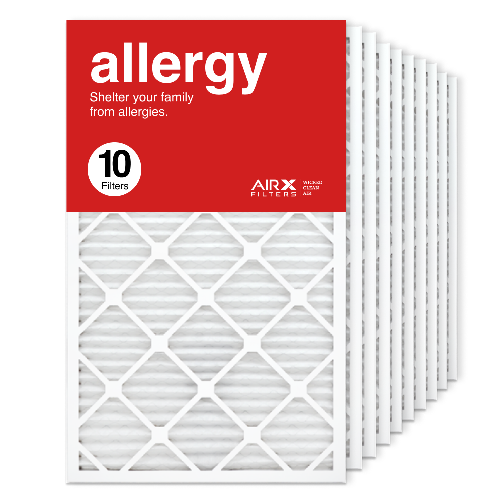 18x30x1 AIRx ALLERGY Air Filter, 10-Pack