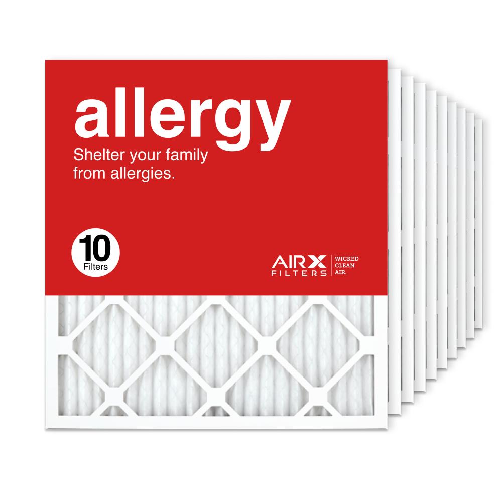 19.75x21.5x1 AIRx ALLERGY Air Filter, 10-Pack