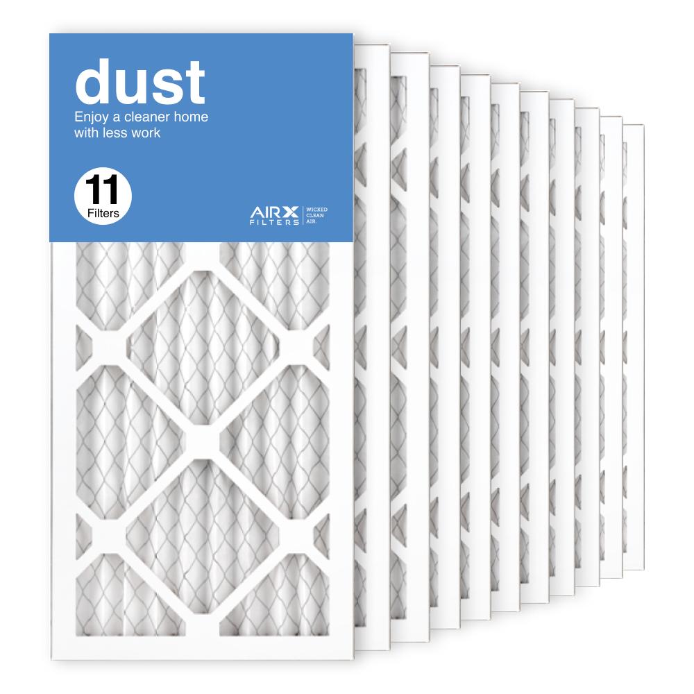 10x20x1 AIRx DUST Air Filter, 11-Pack