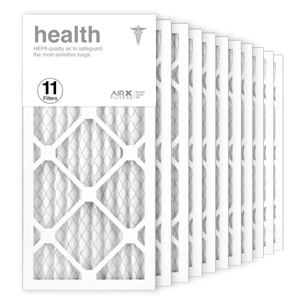 10x20x1 AIRx HEALTH Air Filter, 11-Pack
