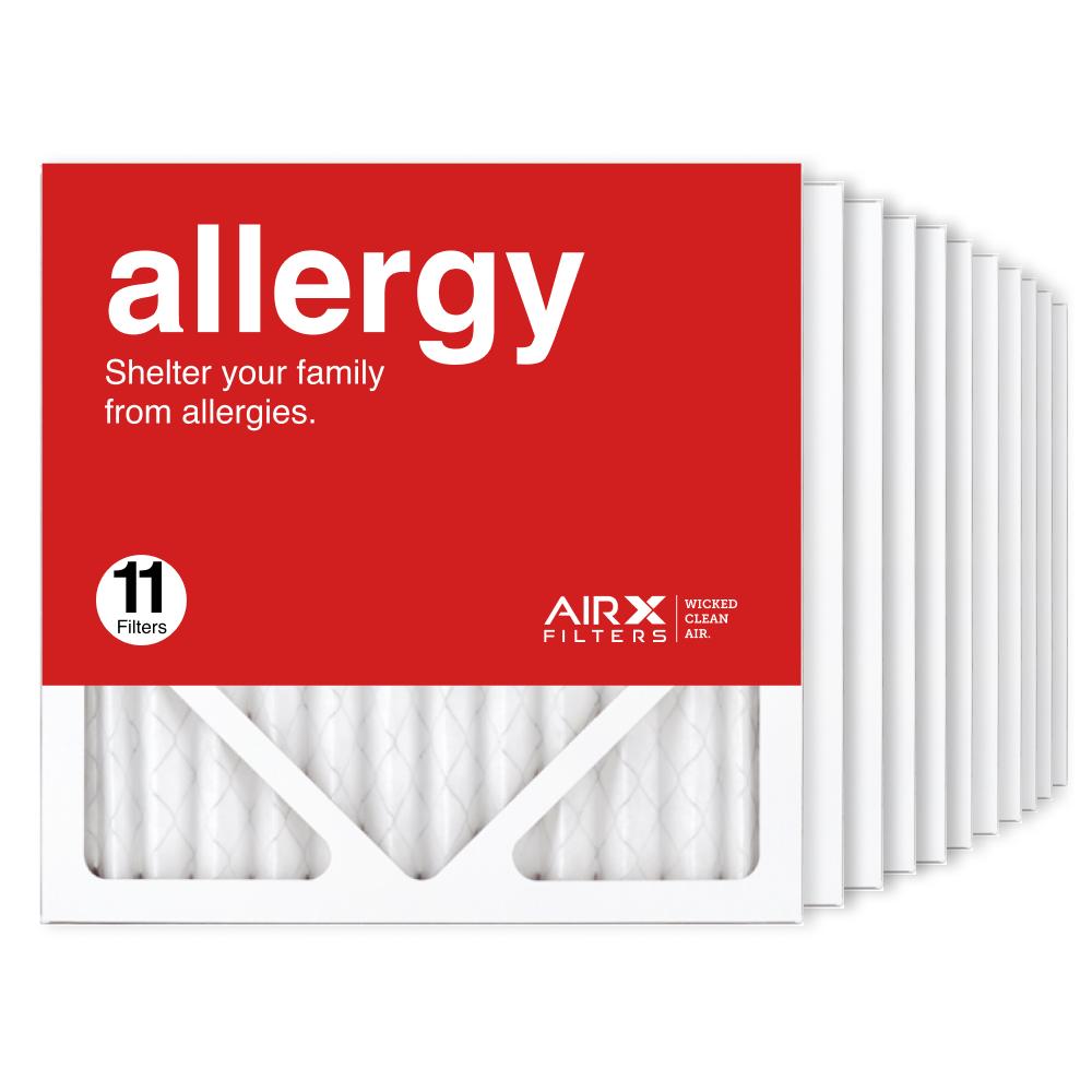 12x12x1 AIRx ALLERGY Air Filter, 11-Pack