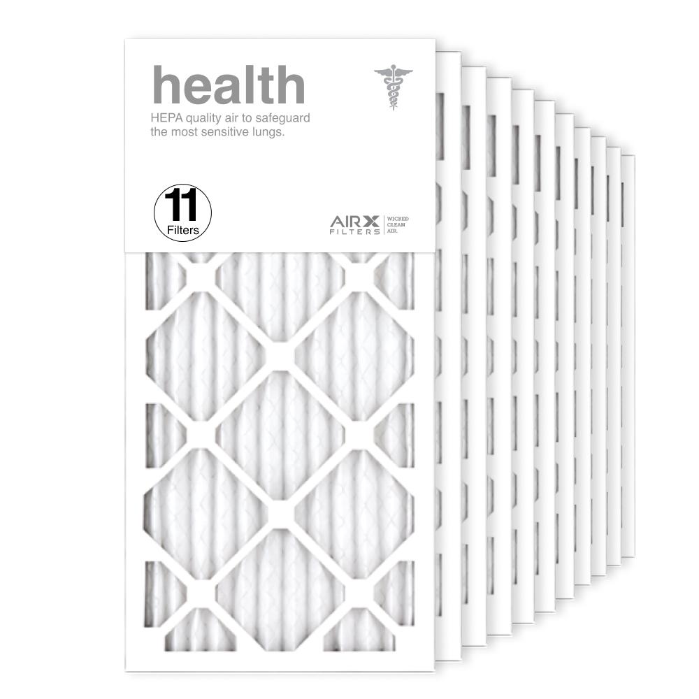 12x25x1 AIRx HEALTH Air Filter, 11-Pack