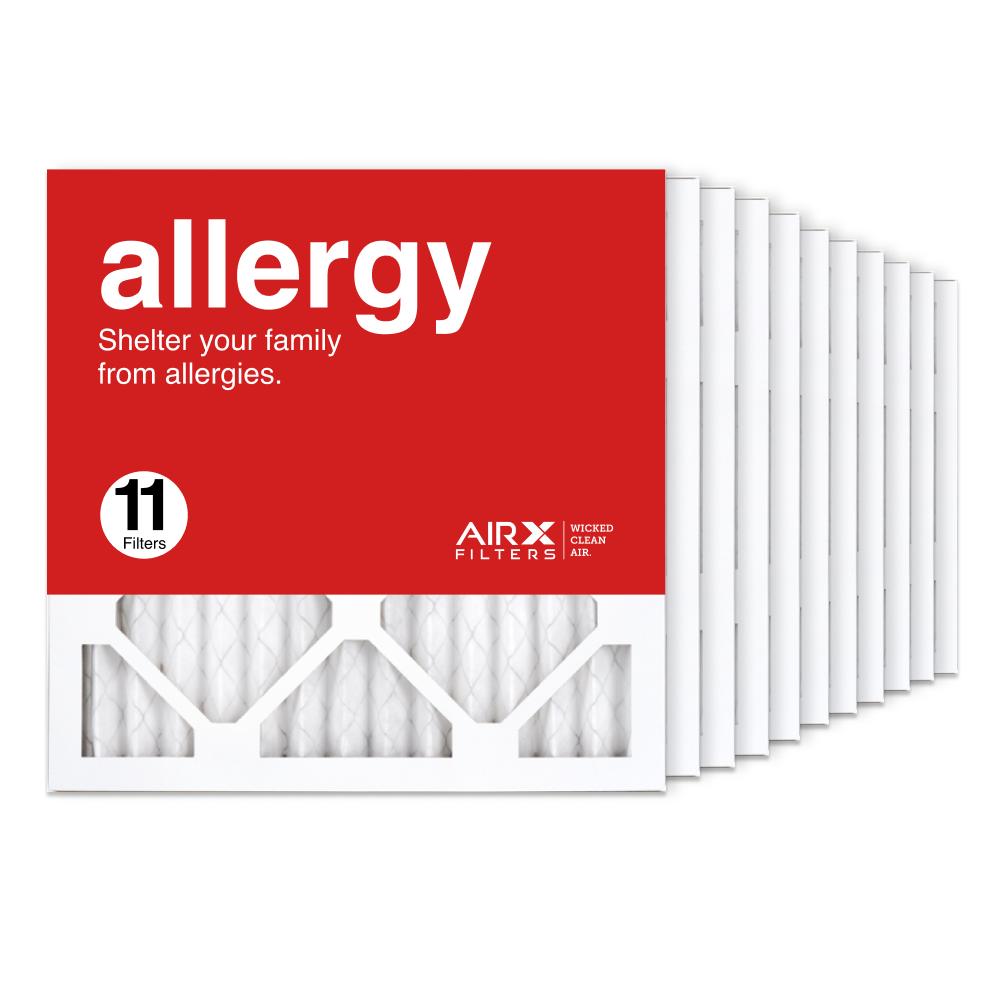 14x14x1 AIRx ALLERGY Air Filter, 11-Pack