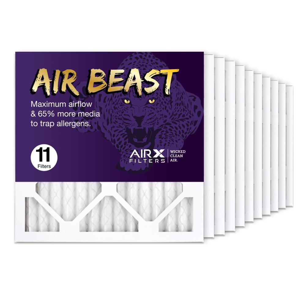 14x14x1 AIRx Air Beast High Flow Air Filter, 11-Pack