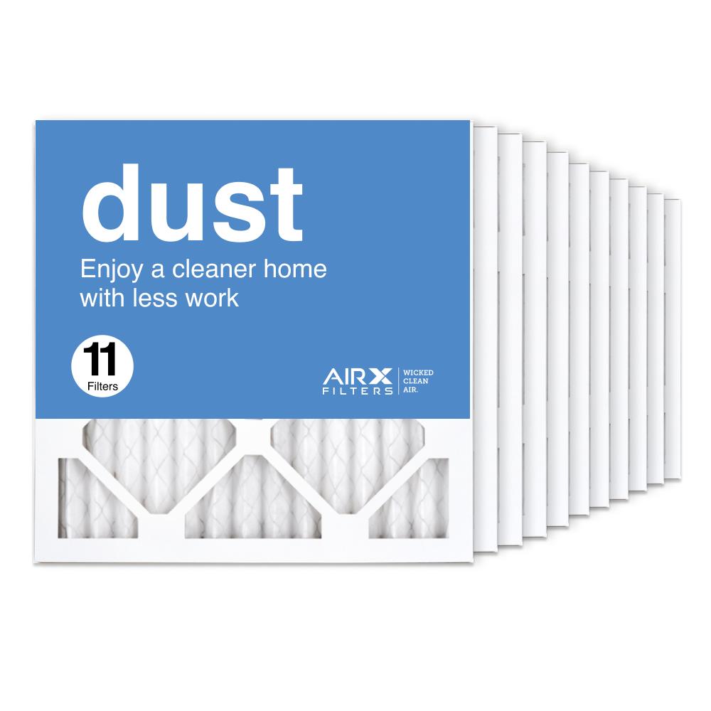 14x14x1 AIRx DUST Air Filter, 11-Pack