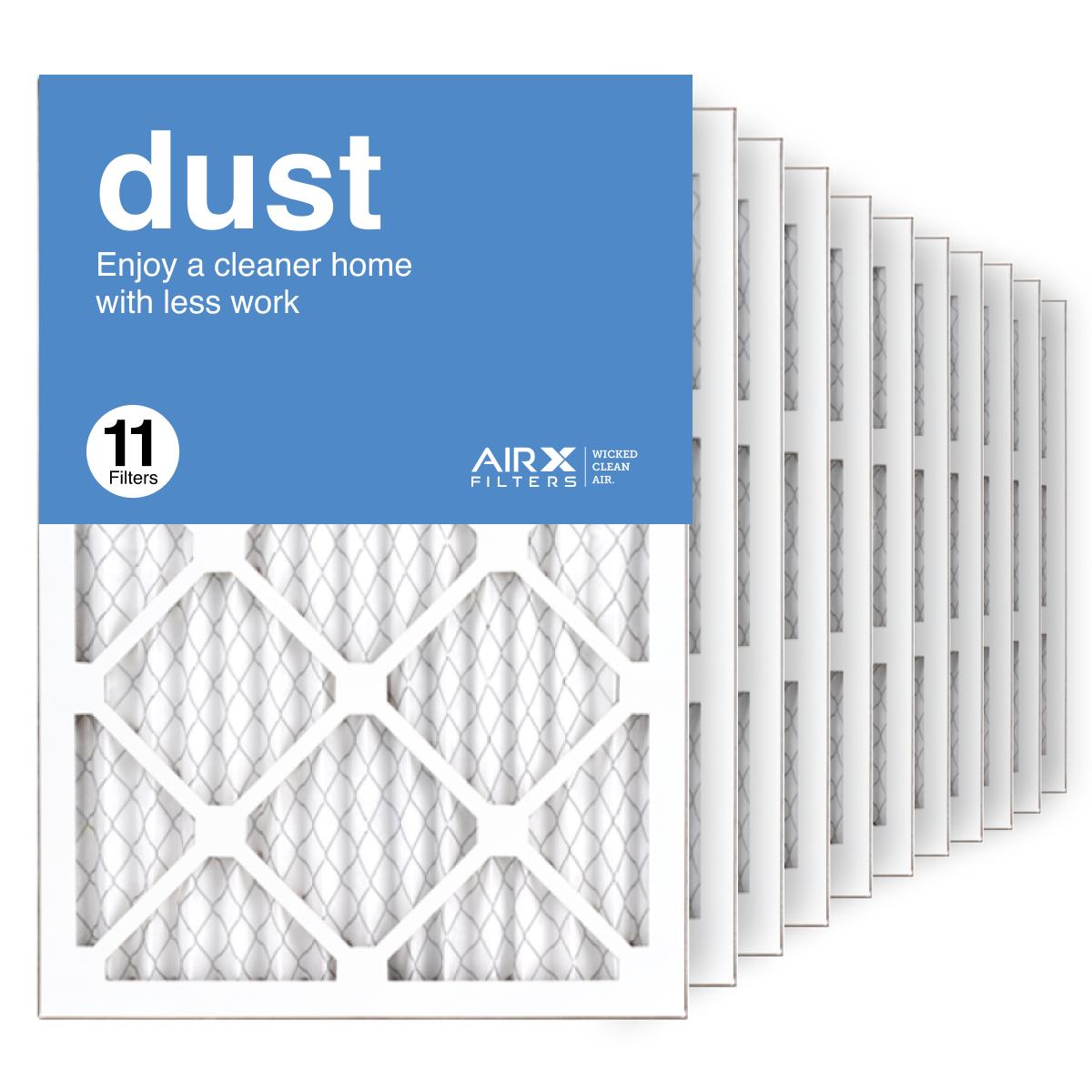 14x20x1 AIRx DUST Air Filter, 11-Pack
