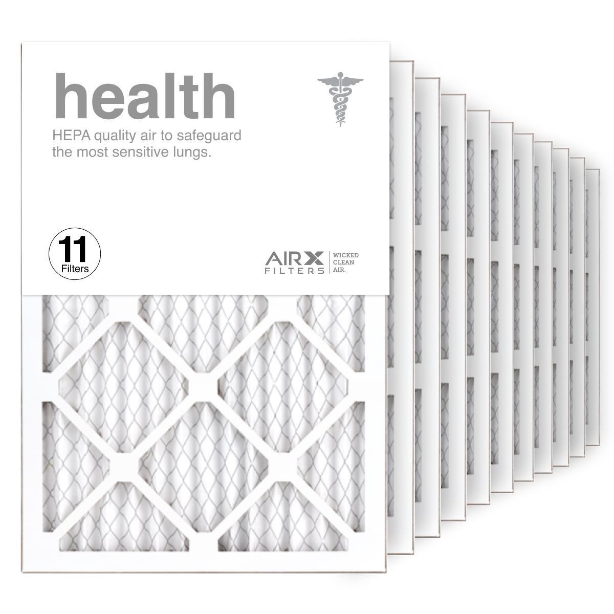 14x20x1 AIRx HEALTH Air Filter, 11-Pack