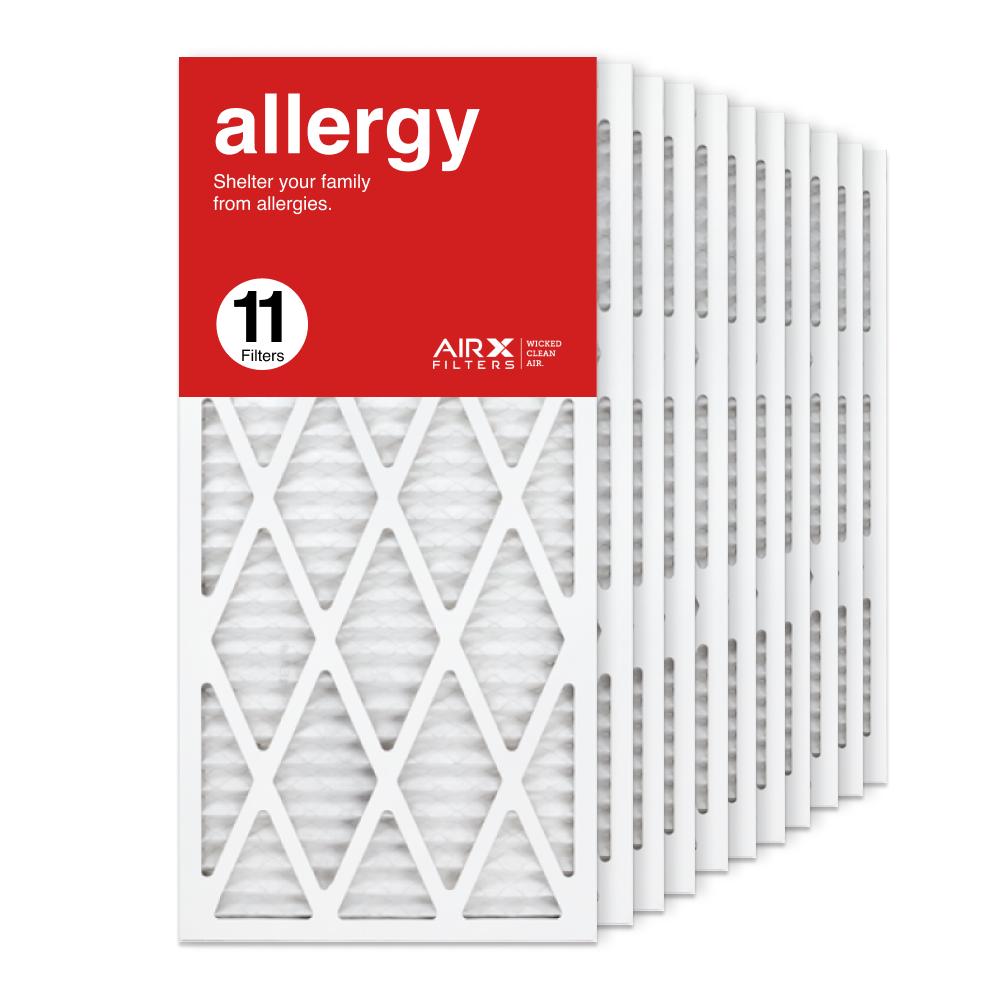 14x30x1 AIRx ALLERGY Air Filter, 11-Pack