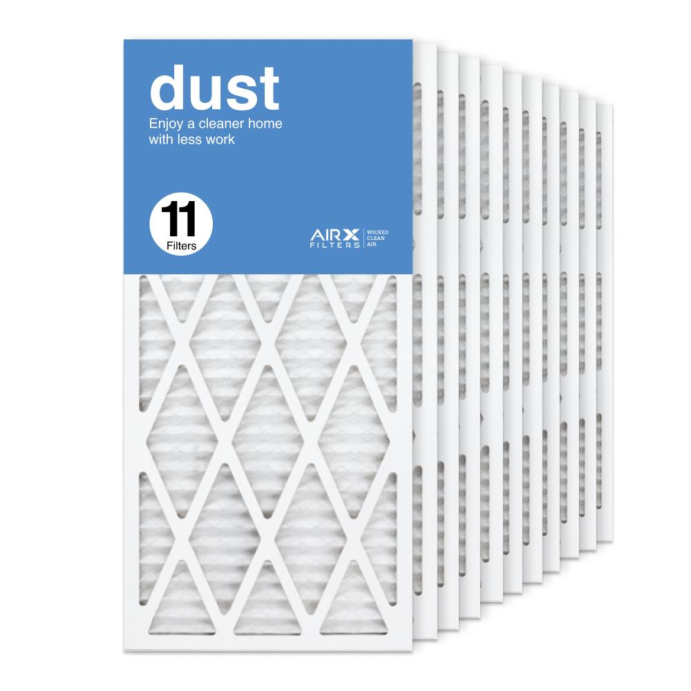 14x30x1 AIRx DUST Air Filter, 11-Pack