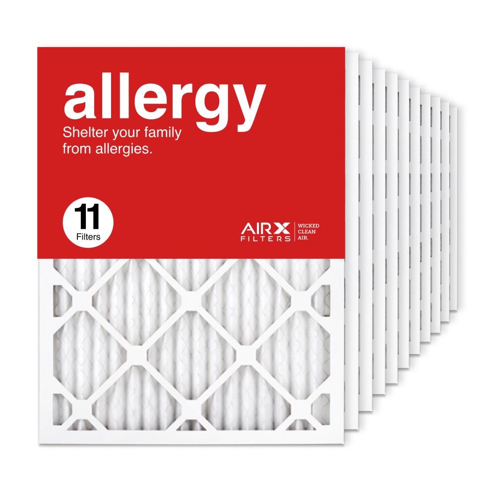 16.375x21.5x1 AIRx ALLERGY Air Filter, 11-Pack