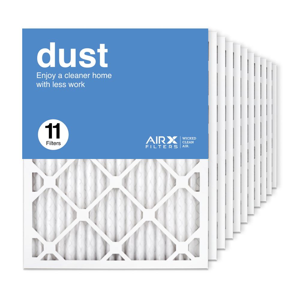 16.375x21.5x1 AIRx DUST Air Filter, 11-Pack