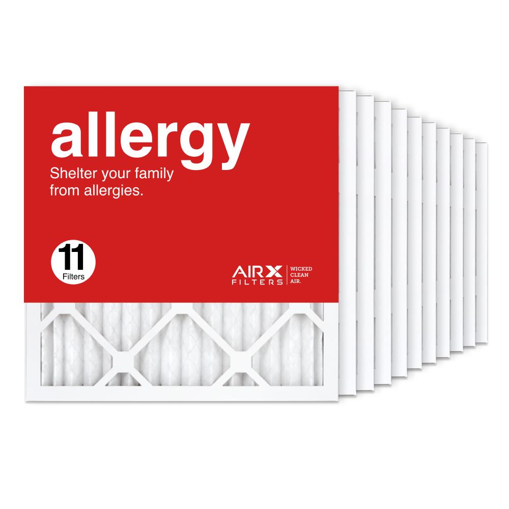 16x16x1 AIRx ALLERGY Air Filter, 11-Pack