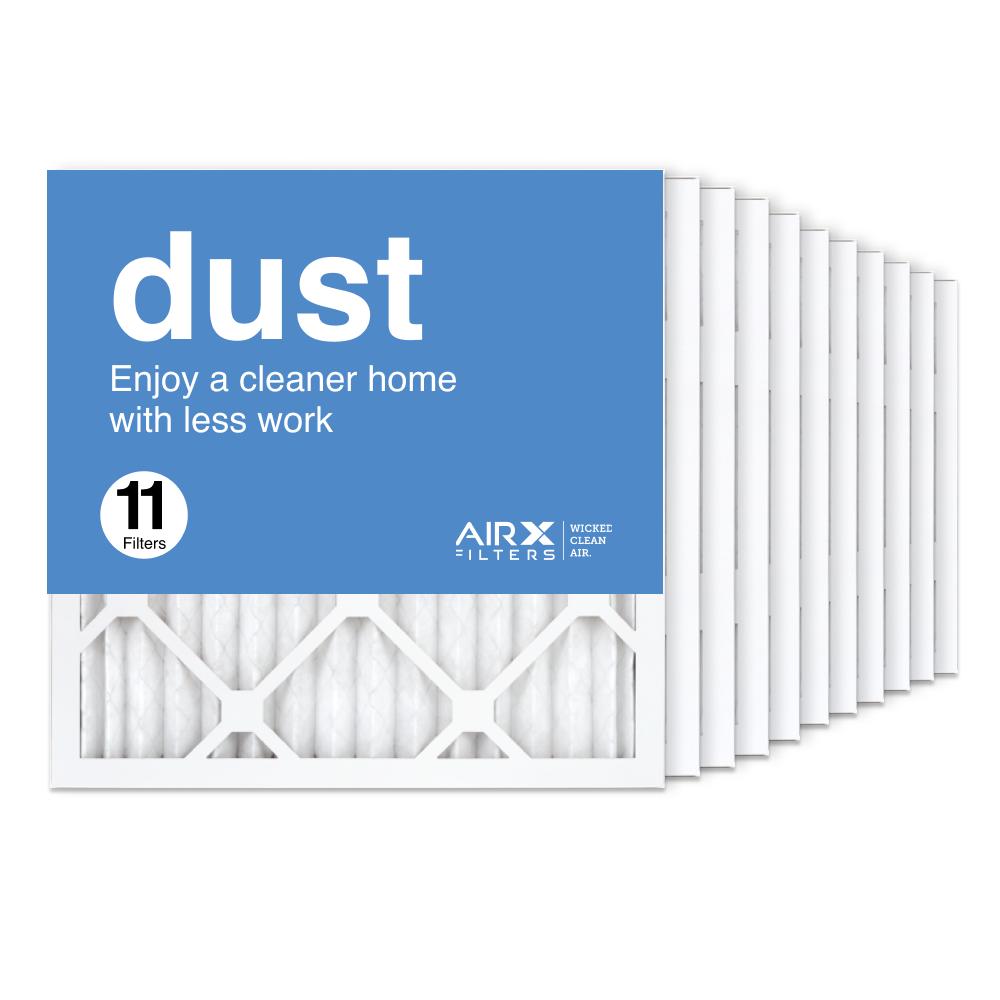 16x16x1 AIRx DUST Air Filter, 11-Pack