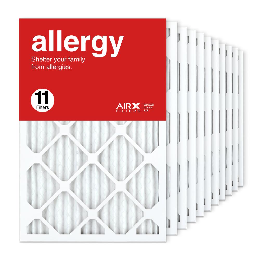16x24x1 AIRx ALLERGY Air Filter, 11-Pack
