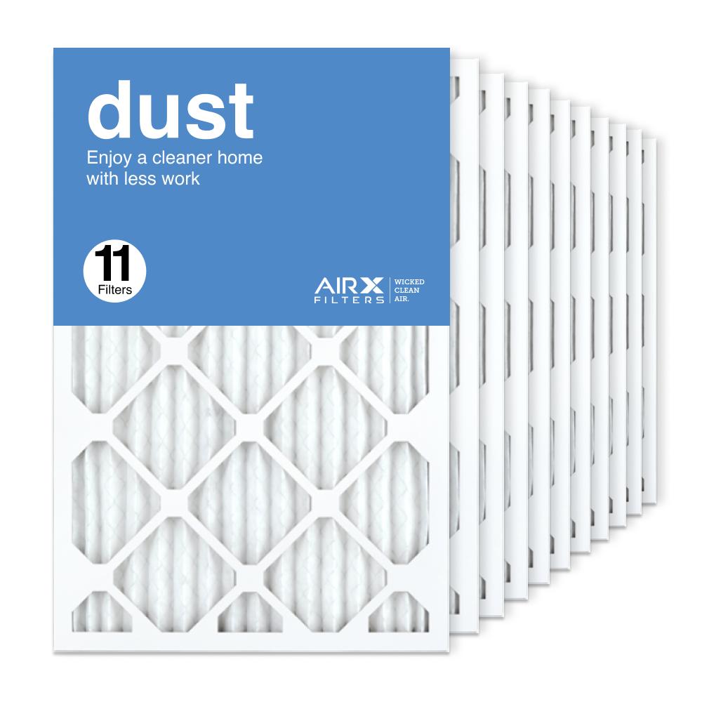 16x25x1 AIRx DUST Air Filter, 11-Pack