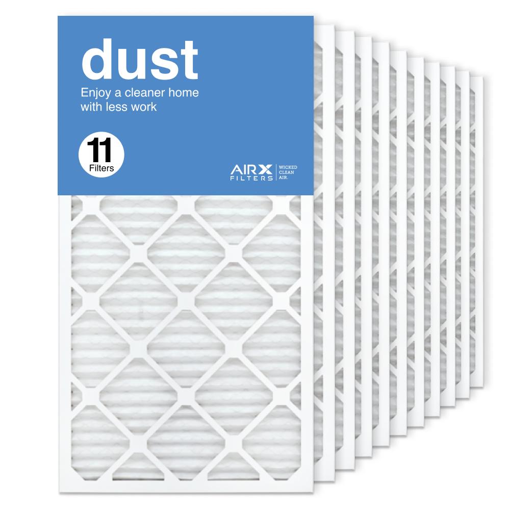16x30x1 AIRx DUST Air Filter, 11-Pack