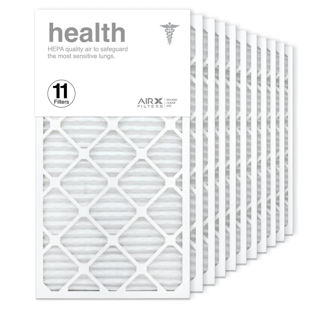 16x30x1 AIRx HEALTH Air Filter, 11-Pack
