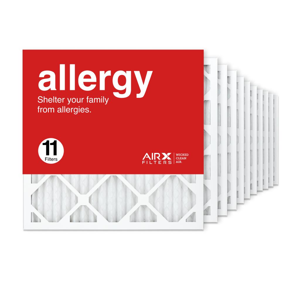 18x18x1 AIRx ALLERGY Air Filter, 11-Pack