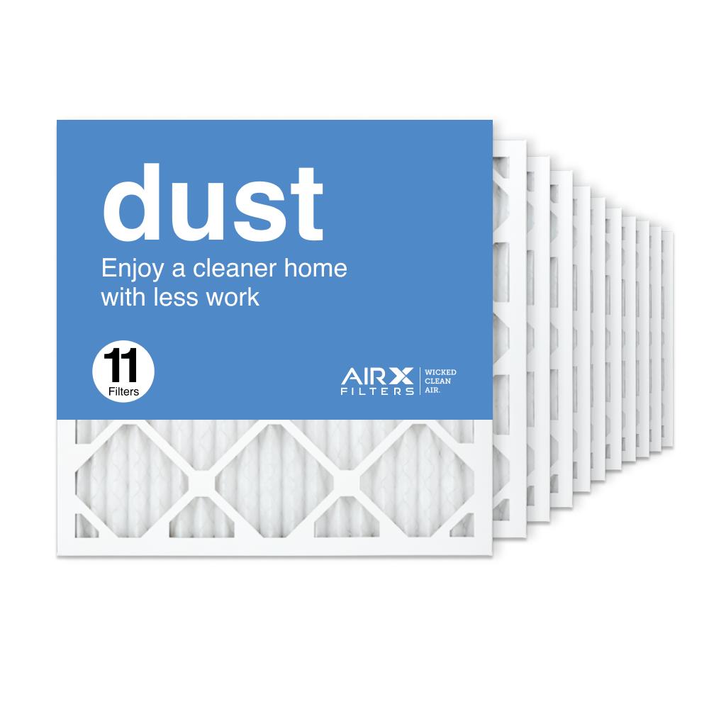 18x18x1 AIRx DUST Air Filter, 11-Pack