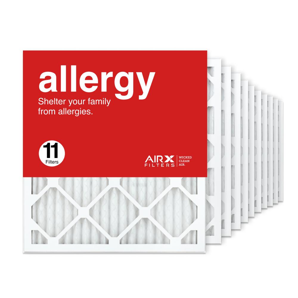 18x20x1 AIRx ALLERGY Air Filter, 11-Pack