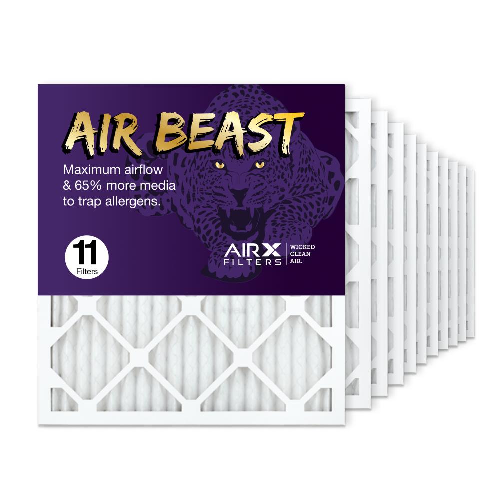 18x20x1 AIRx Air Beast High Flow Air Filter, 11-Pack