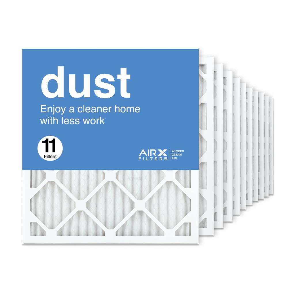 18x20x1 AIRx DUST Air Filter, 11-Pack