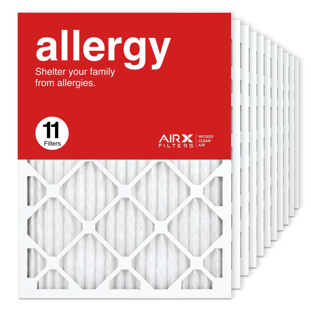 18x24x1 AIRx ALLERGY Air Filter, 11-Pack