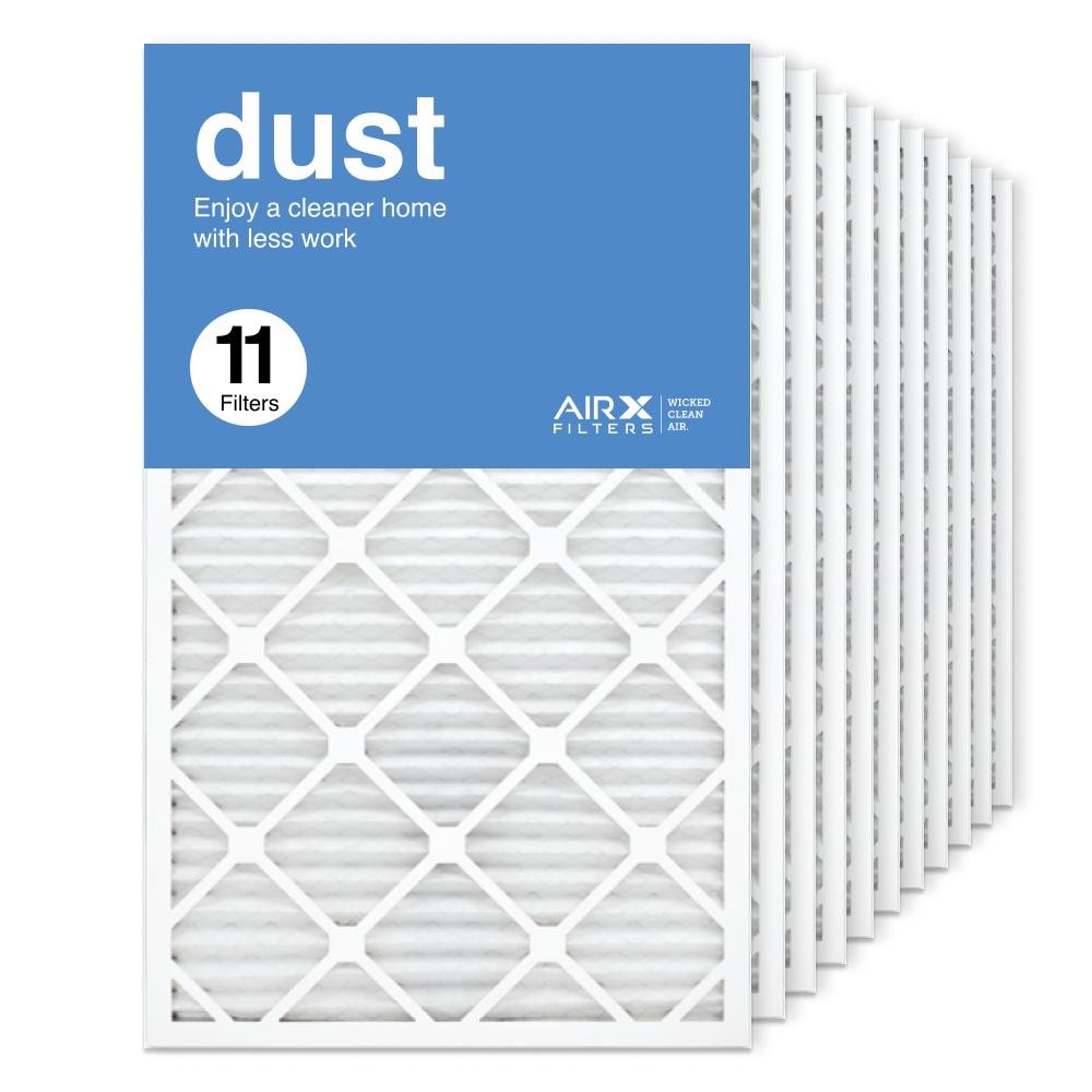 18x30x1 AIRx DUST Air Filter, 11-Pack