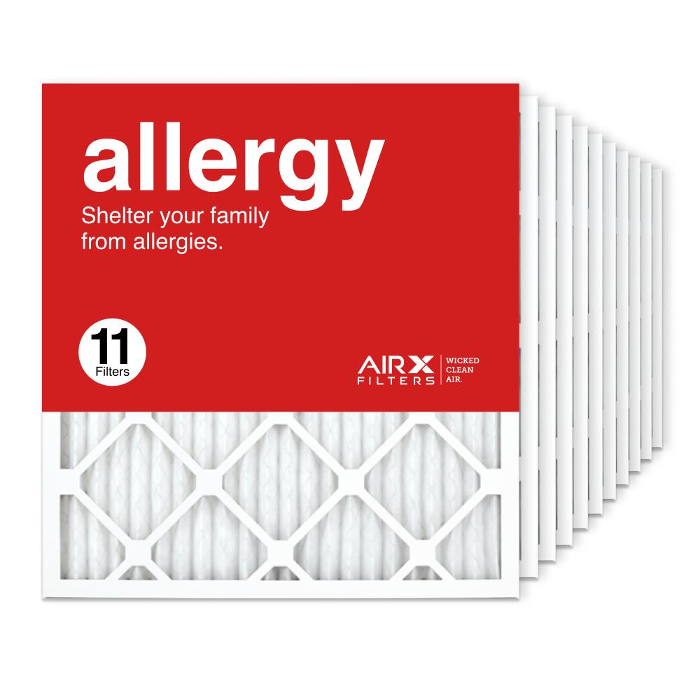 19.75x21.5x1 AIRx ALLERGY Air Filter, 11-Pack