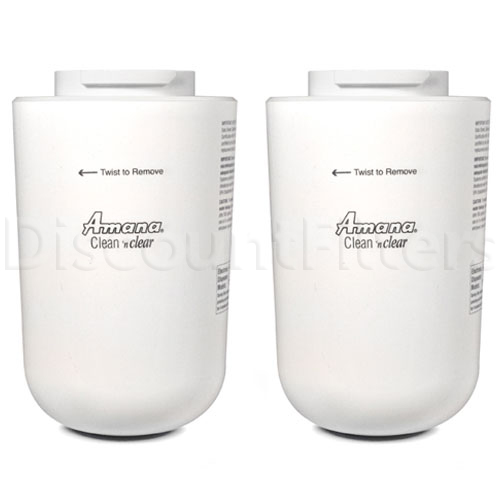 Amana Clean 'n Clear Water Filter (12527304, WF30, WF40), 2-Pack