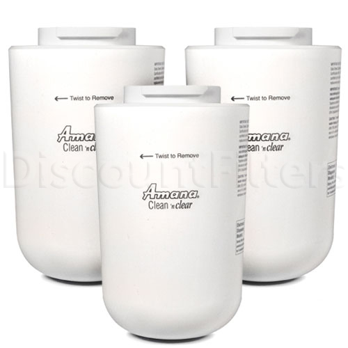 Amana Clean 'n Clear Water Filter (12527304, WF30, WF40), 3-Pack