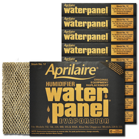 Aprilaire #12 Water Panel Evaporator, 2-Pack