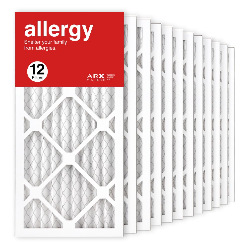 10x20x1 AIRx ALLERGY Air Filter, 12-Pack