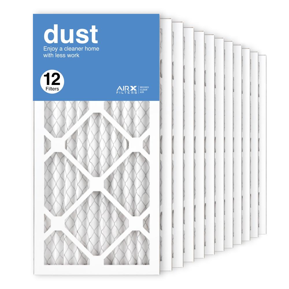 10x20x1 AIRx DUST Air Filter, 12-Pack