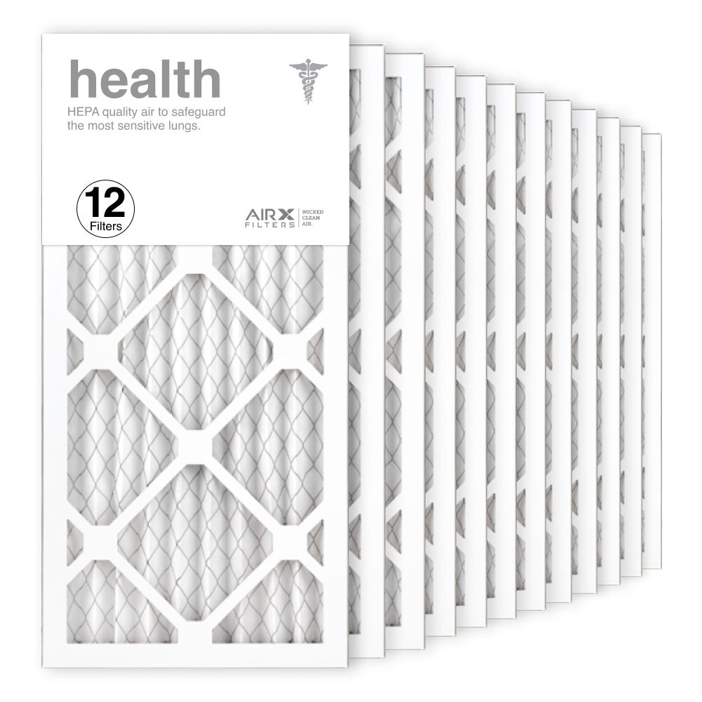 10x20x1 AIRx HEALTH Air Filter, 12-Pack