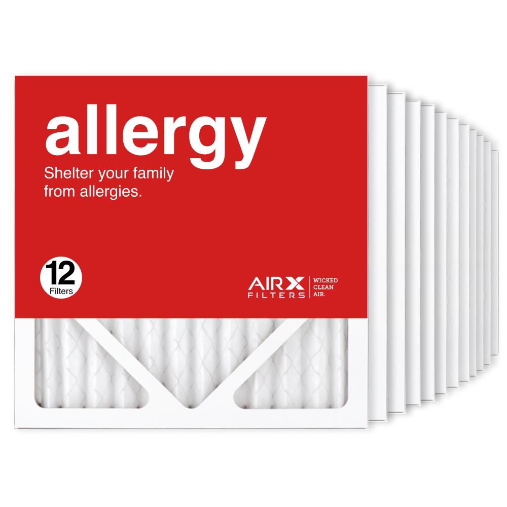 12x12x1 AIRx ALLERGY Air Filter, 12-Pack
