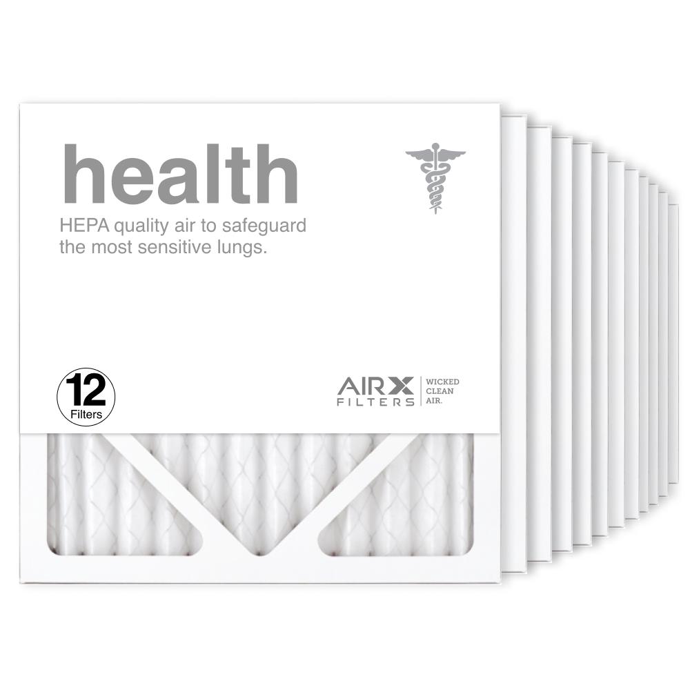 12x12x1 AIRx HEALTH Air Filter, 12-Pack