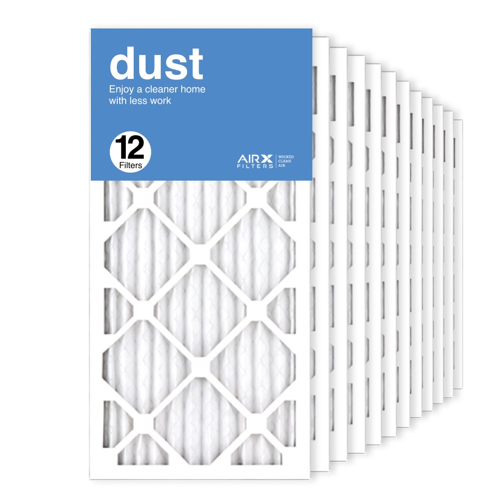 12x24x1 AIRx DUST Air Filter, 12-Pack