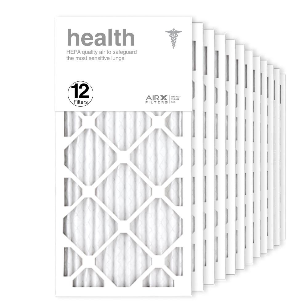12x24x1 AIRx HEALTH Air Filter, 12-Pack