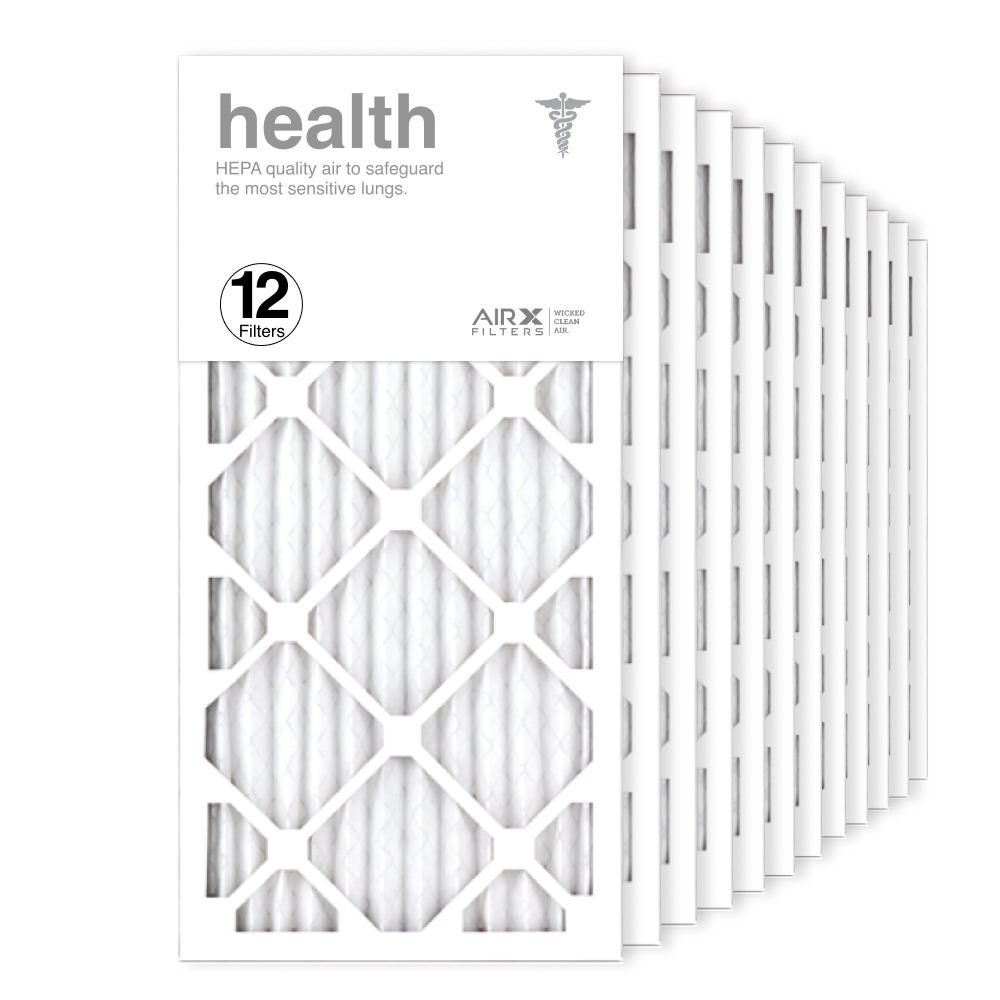 12x25x1 AIRx HEALTH Air Filter, 12-Pack
