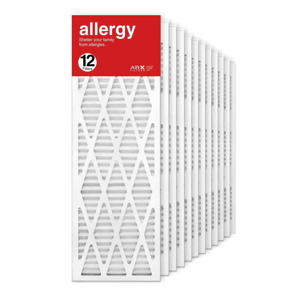 12x36x1 AIRx ALLERGY Air Filter, 12-Pack