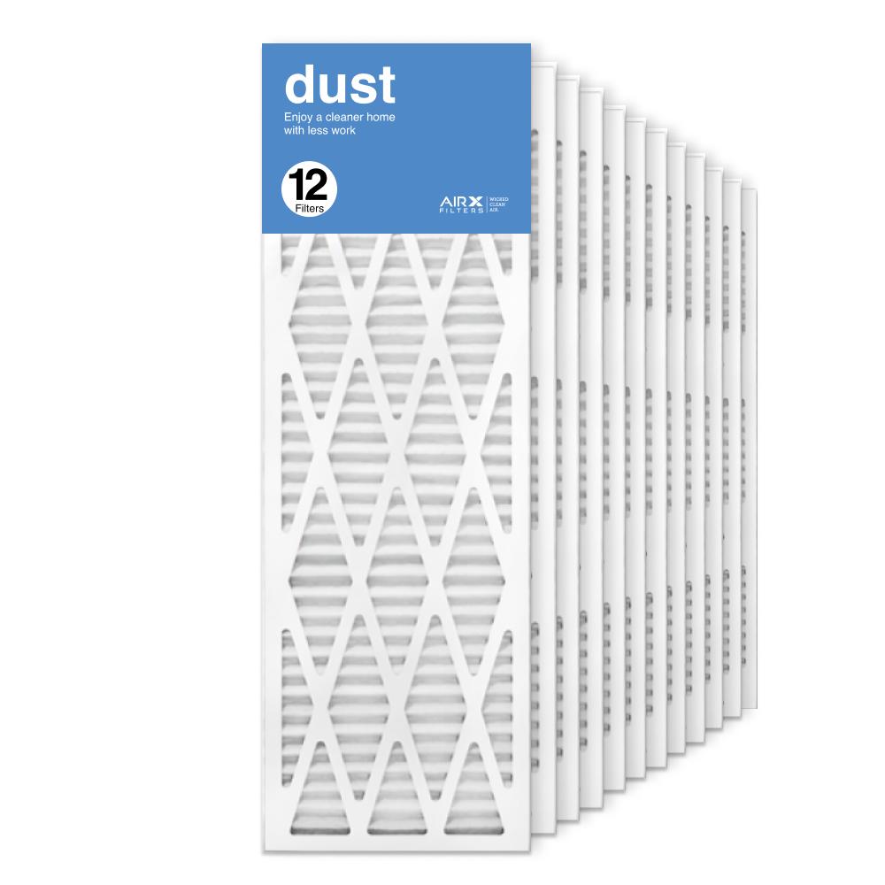 12x36x1 AIRx DUST Air Filter, 12-Pack