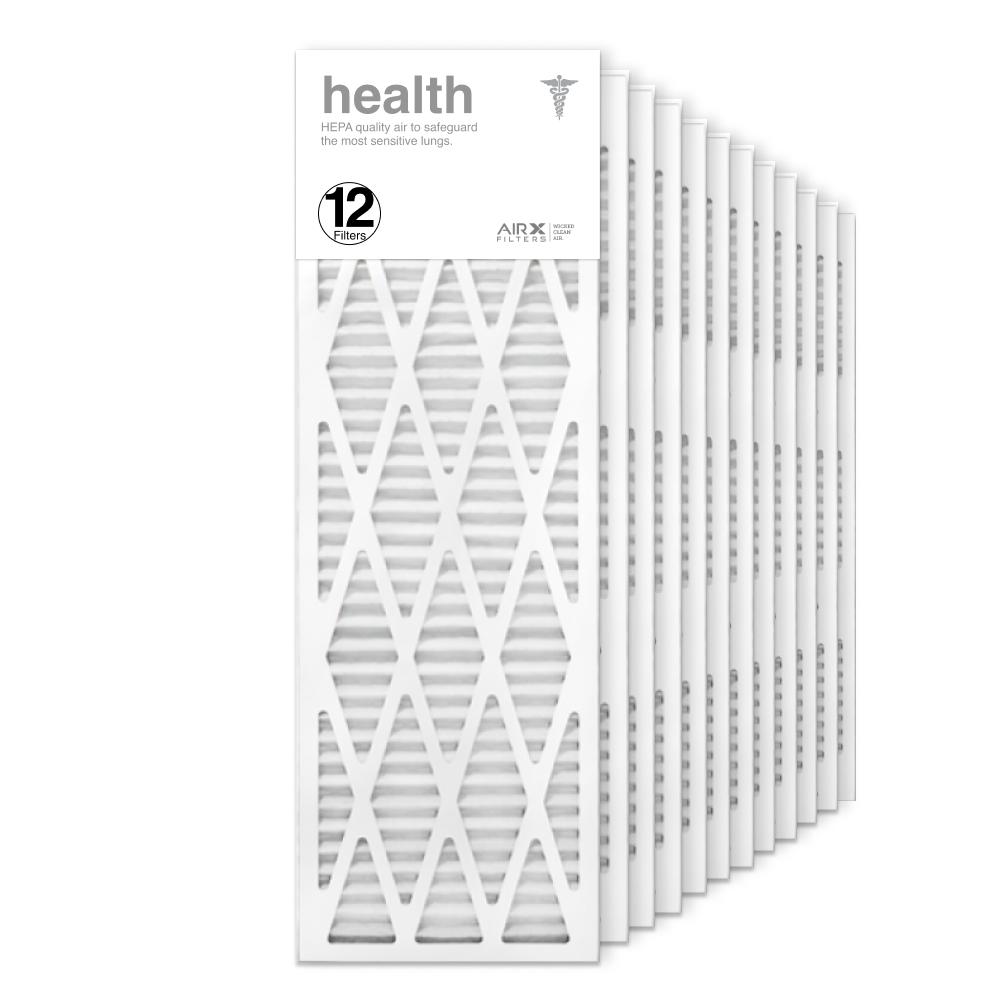 12x36x1 AIRx HEALTH Air Filter, 12-Pack