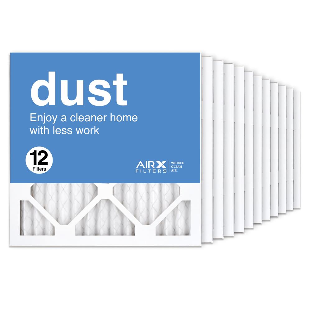 14x14x1 AIRx DUST Air Filter, 12-Pack