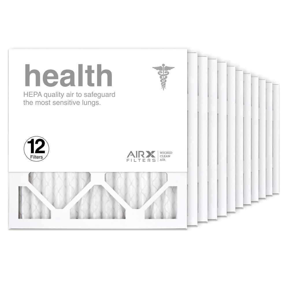 14x14x1 AIRx HEALTH Air Filter, 12-Pack