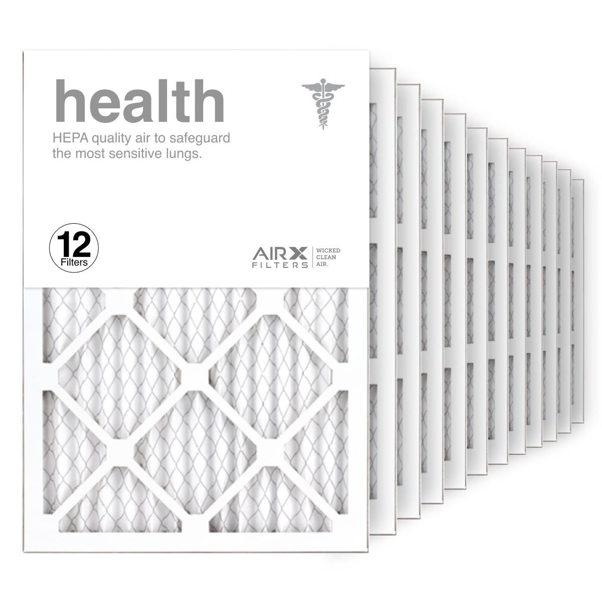 14x20x1 AIRx HEALTH Air Filter, 12-Pack