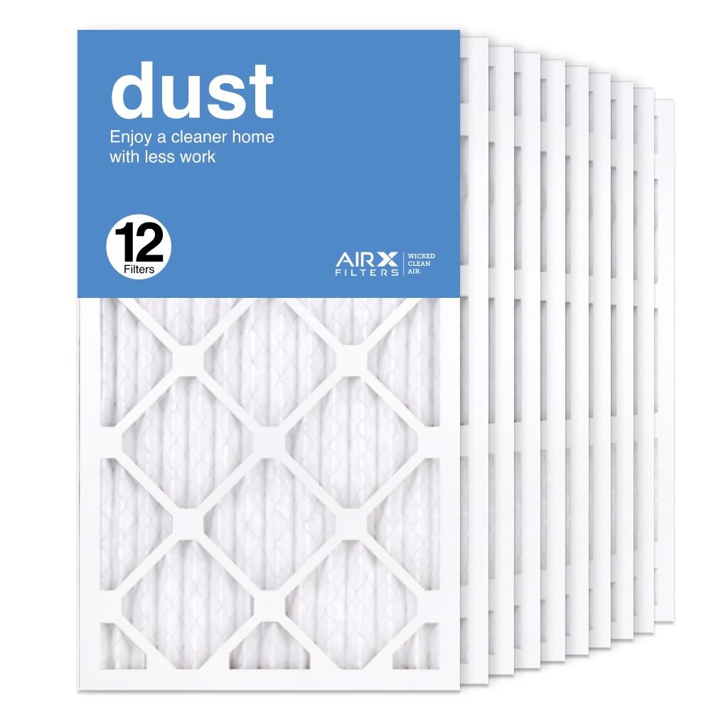 14x24x1 AIRx DUST Air Filter, 12-Pack